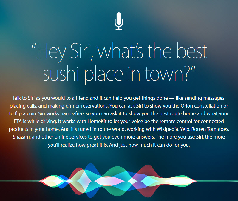 Finding Siri: Siri Tips for iPhone users.