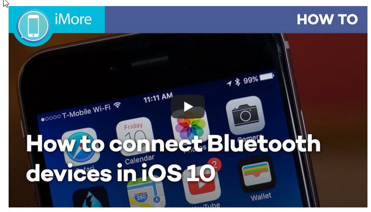 How to connect to Bluetooth devices with your iPhone or iPad | iMore